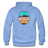 Thredbo Is Calling - Heavy Blend Adult Hoodie - carolina blue