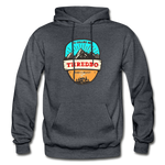 Thredbo Is Calling - Heavy Blend Adult Hoodie - charcoal gray