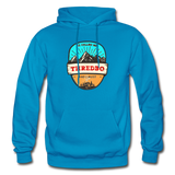 Thredbo Is Calling - Heavy Blend Adult Hoodie - turquoise