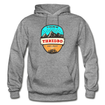 Thredbo Is Calling - Heavy Blend Adult Hoodie - graphite heather
