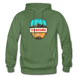 Thredbo Is Calling - Heavy Blend Adult Hoodie - military green