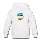 Thredbo Is Calling - Heavy Blend Youth Hoodie - white