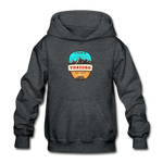 Thredbo Is Calling - Heavy Blend Youth Hoodie - deep heather