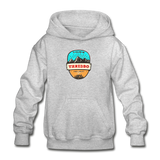 Thredbo Is Calling - Heavy Blend Youth Hoodie - heather gray