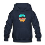 Thredbo Is Calling - Heavy Blend Youth Hoodie - navy