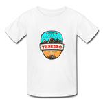 Thredbo Is Calling - Youth Tagless T-Shirt - white