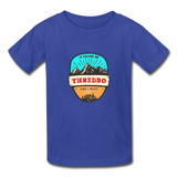 Thredbo Is Calling - Youth Tagless T-Shirt - royal blue