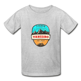 Thredbo Is Calling - Youth Tagless T-Shirt - heather gray