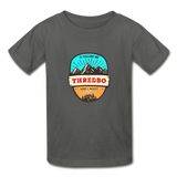 Thredbo Is Calling - Youth Tagless T-Shirt - charcoal