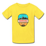 Thredbo Is Calling - Youth Tagless T-Shirt - yellow