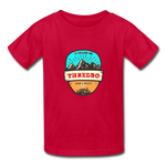 Thredbo Is Calling - Youth Tagless T-Shirt - red