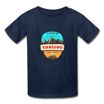 Thredbo Is Calling - Youth Tagless T-Shirt - navy