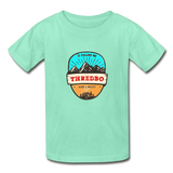 Thredbo Is Calling - Youth Tagless T-Shirt - deep mint