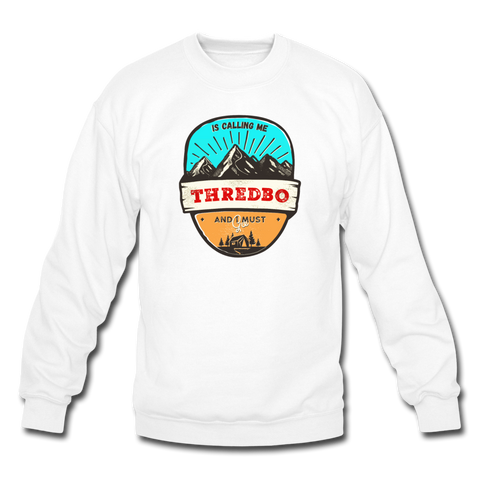 Thredbo Is Calling - Crewneck Sweatshirt - white