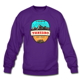 Thredbo Is Calling - Crewneck Sweatshirt - purple