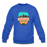 Thredbo Is Calling - Crewneck Sweatshirt - royal blue