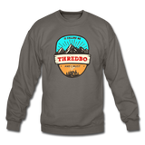 Thredbo Is Calling - Crewneck Sweatshirt - asphalt gray
