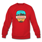 Thredbo Is Calling - Crewneck Sweatshirt - red