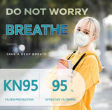 KN95 NIOSH MASK - (20 count Box)