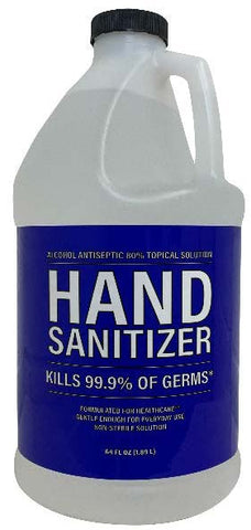 Hand Sanitizer - 64 oz (CASE of 6)