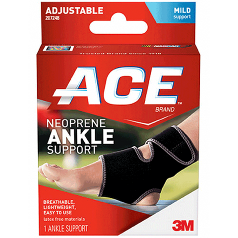 Ace Neoprene Ankle Support Wrap