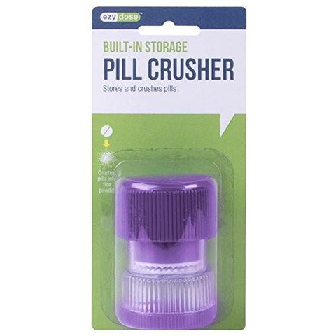 Built-In Storage Pill Tablet Crusher