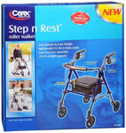 Carex Step n Rest Rollator Walker