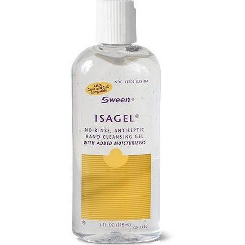 Coloplast Isagel No-Rinse, Antiseptic Hand Cleansing Gel, 4 fl.oz./118 mL