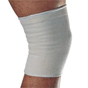 Elastic Knee Sleeve Brace for Added Support White Sizes M-L