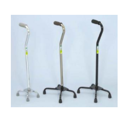 Endurance Small Base Quad Cane Offset Height Adjustable
