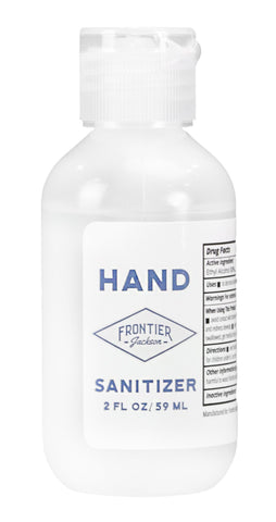 Hand Sanitizer 2oz Bottles -(5 PACK)