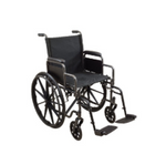 "Kona K1/K2 18"" Dual Axle Wheelchair with Swing-Away Footrests"