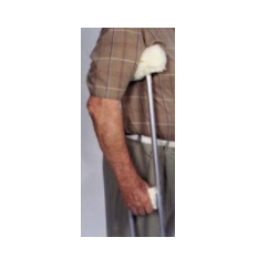 Sheepette Crutch Covers - Arm & Grip Thick