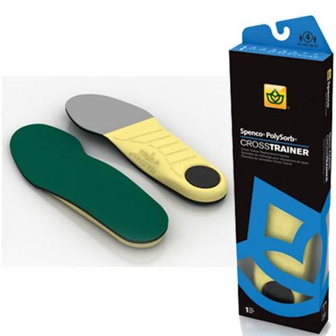 Spenco PolySorb Cross Trainer Insole Men's 8/9