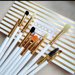 Docolor 10 piece eye brush set