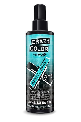 Crazy Colour Spray Bubblegum Blue