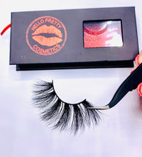Load image into Gallery viewer, Hello Pretty Lashes Mink Sassy 4D