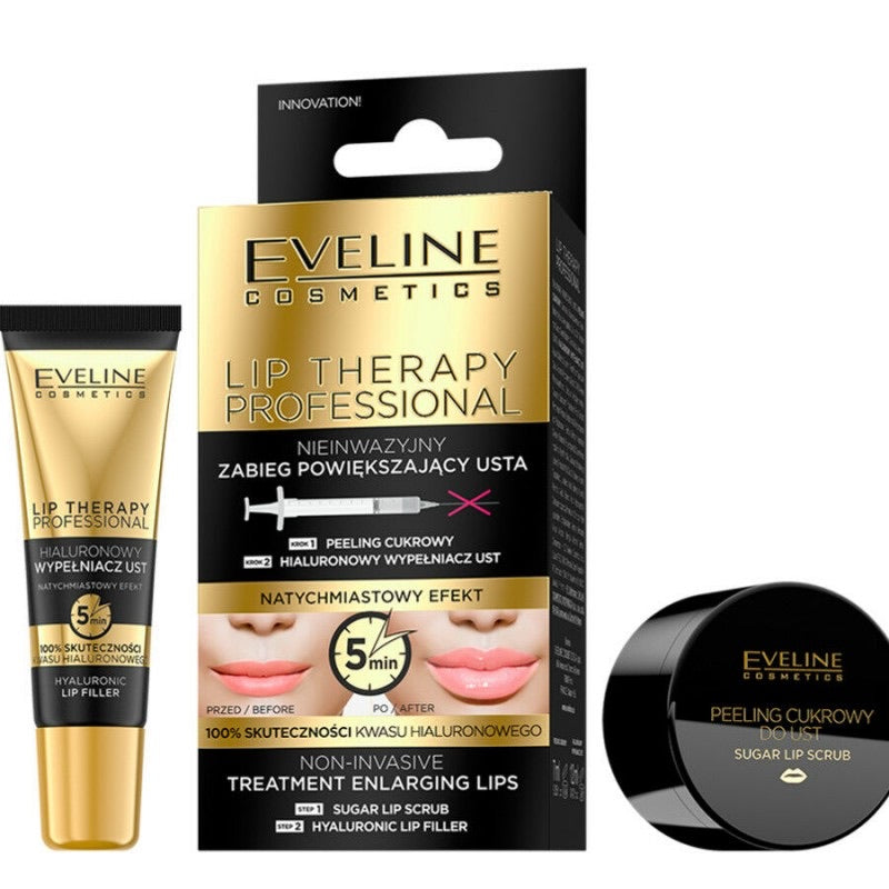 Eveline Lip Therapy Plumper & Scrub Treatment