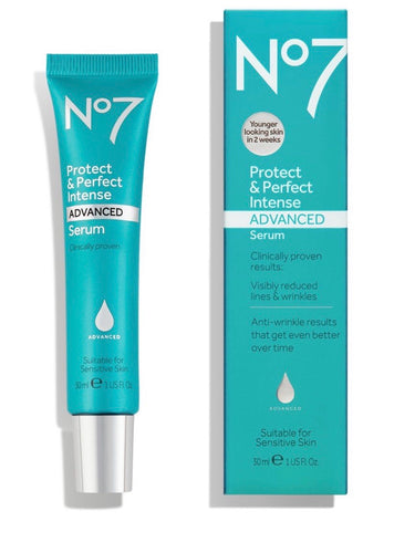 No7 Protect & Perfect Intense Advanced Serum 30ml