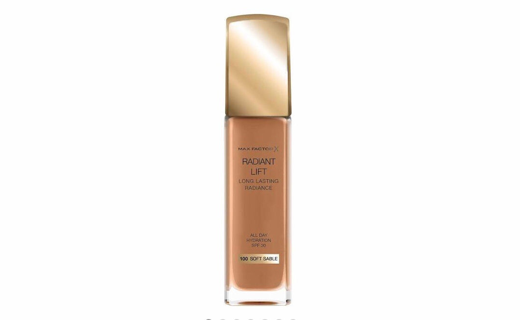 "Max Factor Radiant Lift Foundation ""Soft Sable """