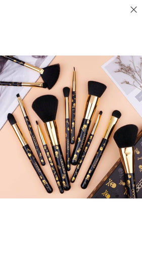 Docolor Goth Brush set 12 piece