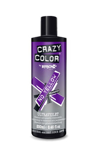 Crazy Colour Shampoo Ultraviolet No Yellow