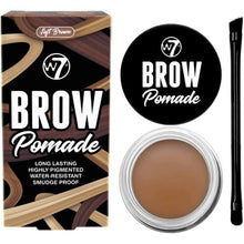 Load image into Gallery viewer, W7 Brow Pomade Soft Brown