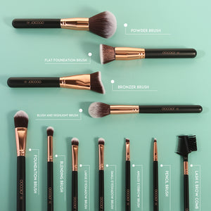 Docolor 11 PC Makeup Brush Set