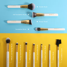 Load image into Gallery viewer, Docolor 11 PC White Makeup Brush Set