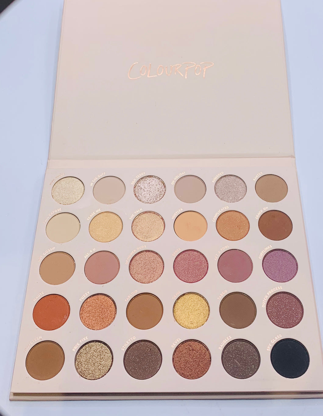 Colourpop Bare Necessities Eyeshadow Palette