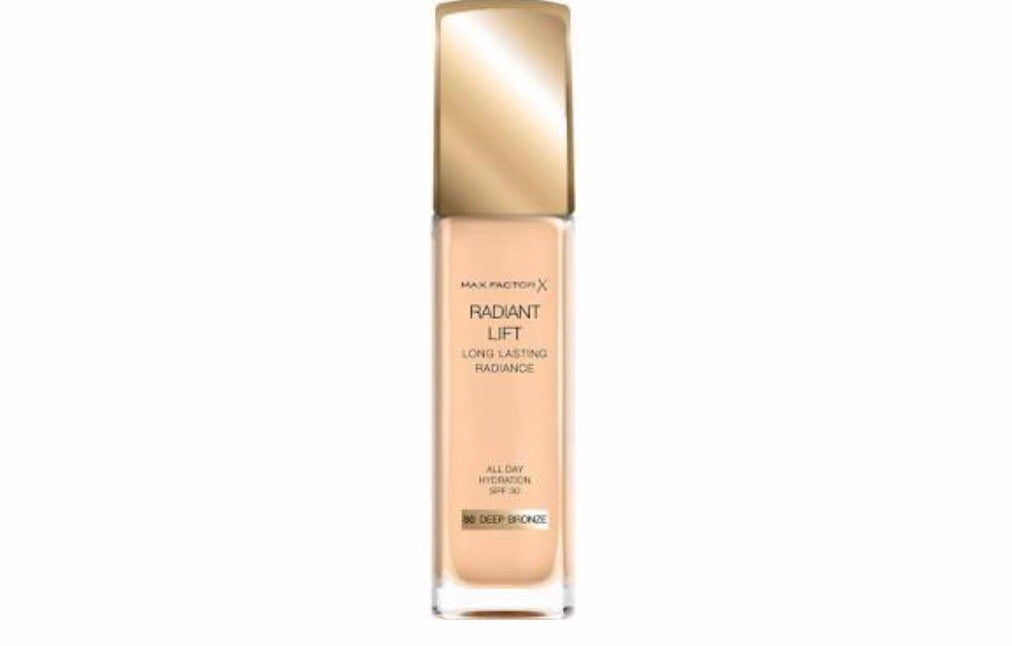 "Max Factor Radiant Lift Foundation ""Deep Bronze"""