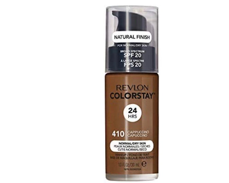 Revlon Colorstay Foundation Cappuccino 410 Normal Dry