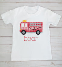 Load image into Gallery viewer, Firetruck Shirt & Shorts