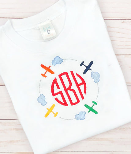 Monogram Airplane Shirt